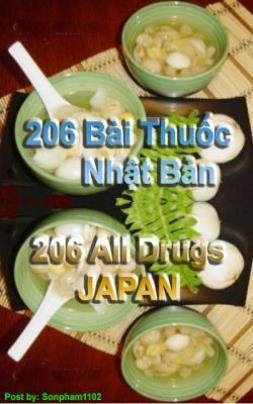 206 Bài Thuốc Nhật Bản