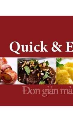 Sách hướng dẫn nấu ăn Quick&Easy – Đơn giản mà ngon