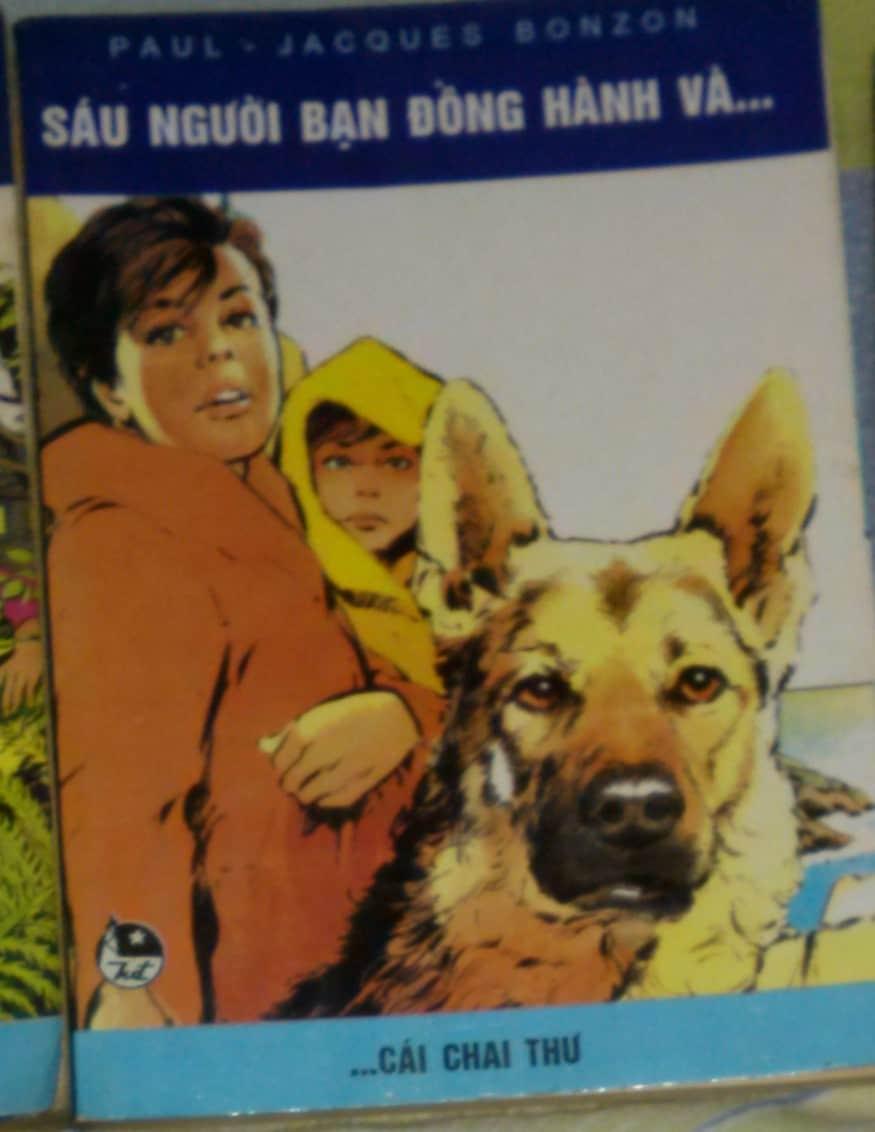 Sáu Người Bạn Đồng Hành Tập 9 - Cái Chai Thư (Paul Jacques Bonzon)