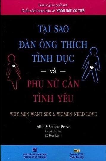 Tải sách: Tại Sao Đàn Ông Thích Tình Dục Và Phụ Nữ Cần Tình Yêu