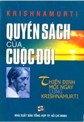 Quyển Sách của Cuộc Đời – Jiddu Krishnamurti
