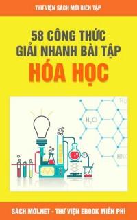 58 Công Thức Giải Nhanh Bài Tập Hóa Học Cực Hay