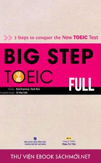 Trọn bộ Big Step TOEIC 1, 2, 3