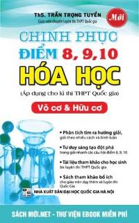 Chinh phục điểm 8 9 10 Hóa học (đầy đủ 2 bộ)