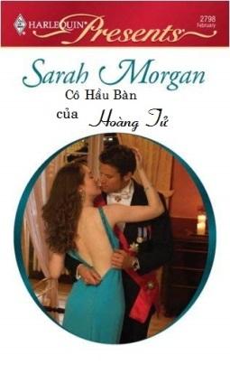 Cô Hầu Bàn của Hoàng Tử – Sarah Morgan