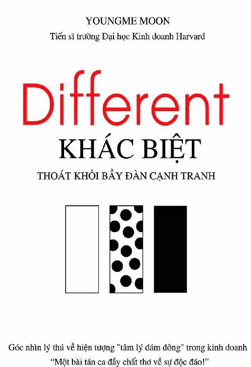 Different – Khác Biệt