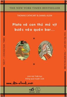 Plato và Con thú mỏ vịt bước vào quán bar – Thomas Cathcart & Daniel Klein