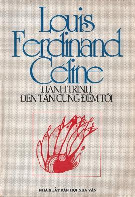 Hành Trình Đến Tận Cùng Đêm Tối – Louis Ferdinand Céline