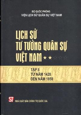 Lịch Sử Tư Tưởng Quân Sự Việt Nam Tập 2 – Bộ Quốc Phòng Viện Lịch Sử Việt Nam