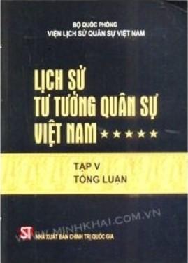 Lịch Sử Tư Tưởng Quân Sự Việt Nam Tập 5 – Bộ Quốc Phòng Viện Lịch Sử Việt Nam
