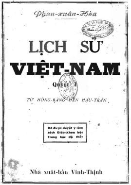Lịch sử Việt Nam: Từ Hồng Bàng đến hậu Trần – Phan Xuân Hòa