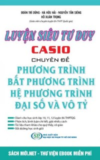 Luyện siêu tư duy Casio