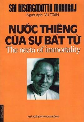 Nước Thiêng Của Sự Bất Tử – Sri Nisargadatta Maharaj