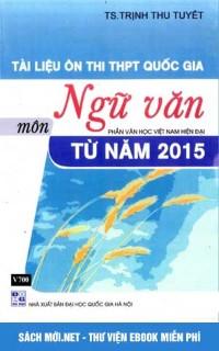 Tài liệu ôn thi THPT Quốc gia môn Ngữ Văn