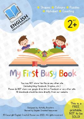MY First Busy Book  Second Edition