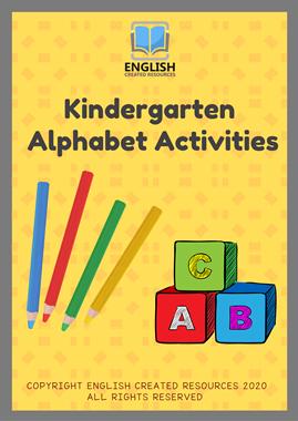 Kindergarten Alphabet Activities