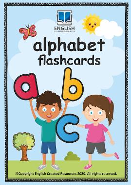 Alphabet Printable Flashcards