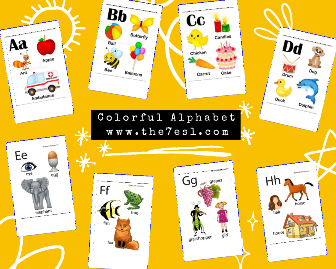 Colorful Alphabet Worksheet