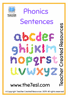 Phonics Sentences (  Short Vowel Word Families )
