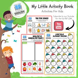 My Little Activity Book