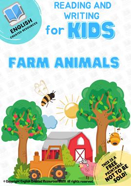 Reading and Writing Farm Animals