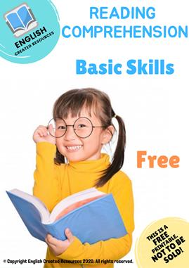 Reading Comprehension Basic Skills Worksheets