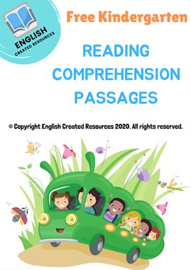 Kindergarten Reading Comprehension Part 1