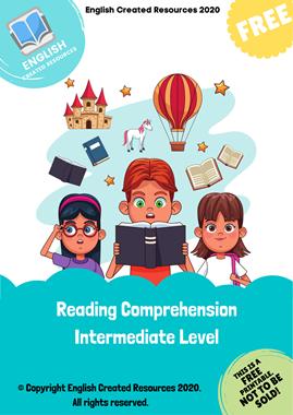 Reading Comprehension Intermediate Level
