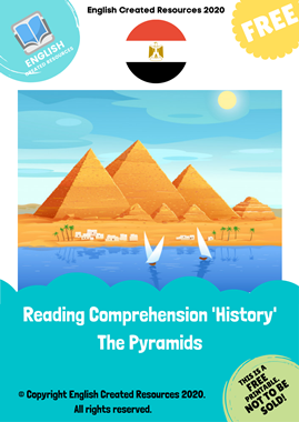 Reading Comprehension History The Pyramids