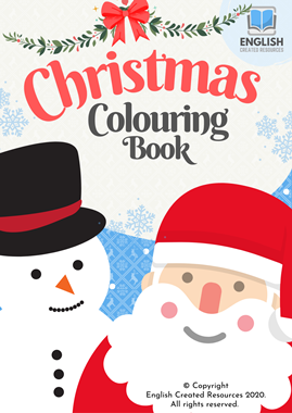 Christmas Colouring and Tracing Book