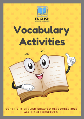 Vocabulary Activities Read and Color