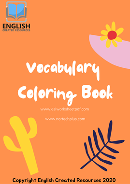 Vocabulary Coloring Book