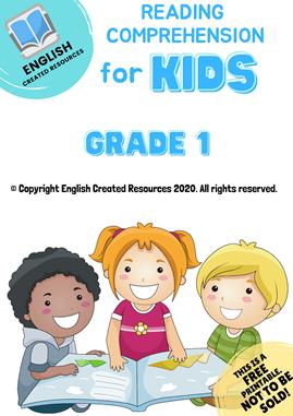 Reading For Kids Grade 1