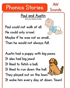 Phonics Stories For Kids