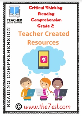 Critical Thinking Reading Comprehension Grade 2