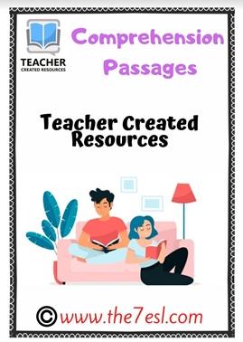30 Comprehension Passages & Questions