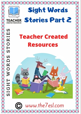 Sight Words Stories Reading Comprehension Part 2