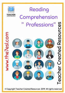 Reading Comprehension  (  Professions )
