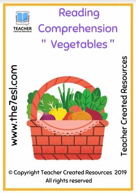 Reading Comprehension ' Vegetables '