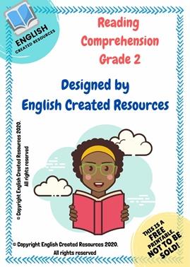 Reading Comprehension Grade 2
