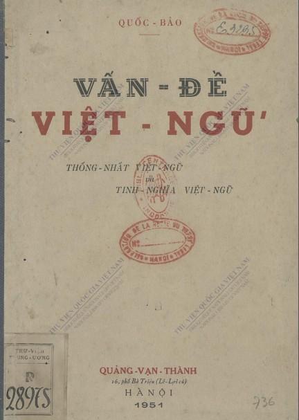 Vấn đề Việt Ngữ