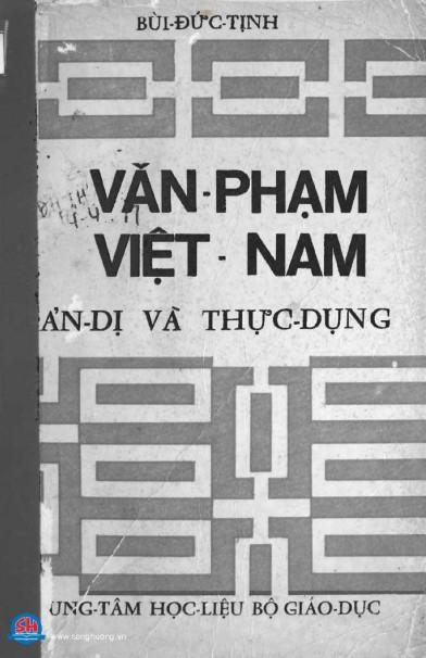 Văn phạm Việt Nam giản dị và thực dụng