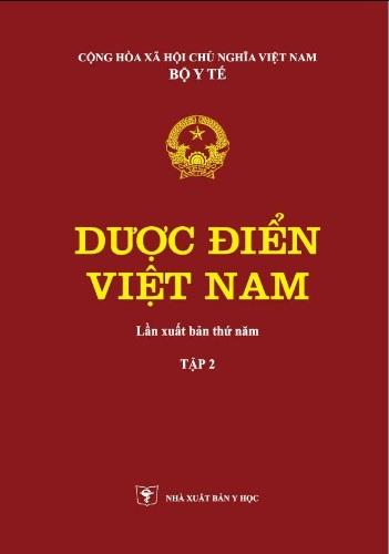 Dược Điển Việt Nam 5 Tập 1 Tập 2 (Bản đầy đủ nhất)