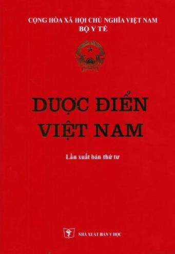 Dược Điển Việt Nam (Tái Bản Lần Thứ 4 )
